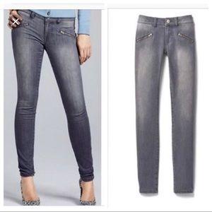CAbi Double Zipper Jeans